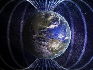 Dünya'nın manyetik alanı görseli