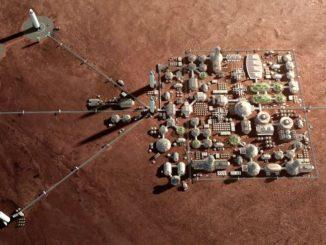 Marsta koloni kurulumuna ait görsel