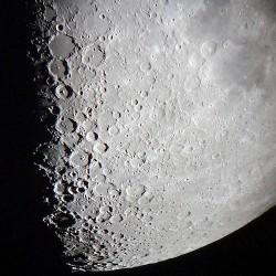 Ay'ın bir fotoğrafı