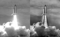 Nasa'nın son uzay mekiği uçuşu fotoğrafı