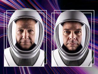 SpaceX görevinde yer alacak NASA Astronotlarının fotoğrafı