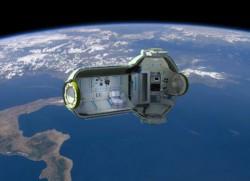 Rusya'nın uzaydaki otel projesine ait tasarım