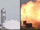 SpaceX Starship SN4 roket prototipi patlama fotoğrafı