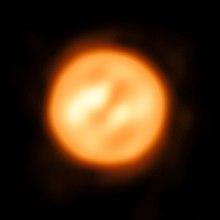 Antares'in çekilmiş en net fotoğrafı