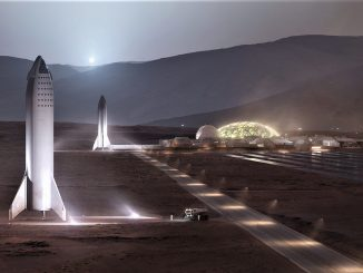 Mars'ta Koloni Görseli