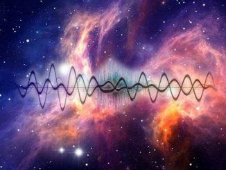 Uzaydan gelen radyo dalgaları görseli