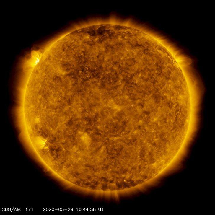 5 Mayıs 2020 tarihli Güneş patlaması fotoğrafı