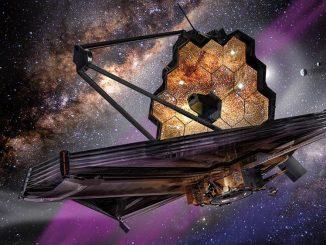 James Webb teleskobu görseli