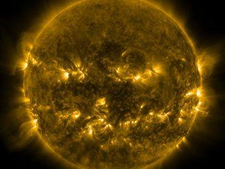 NASA'nın SDO uydusundan çekilen Güneş fotoğrafı