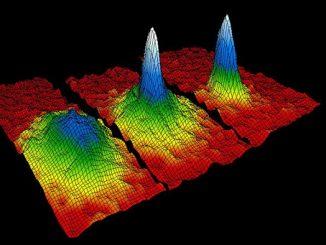 Gaz halindeki rubidyum atomlarındaki Bose-Einstein Yoğunlaşması