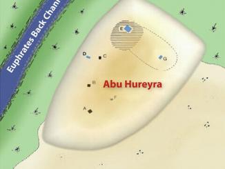 Kuyruklu yıldız patlamasıyla yok olan Ebu Hureyre Köyünün haritadaki yeri