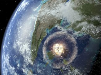 Chicxulub Asteroiti Görseli
