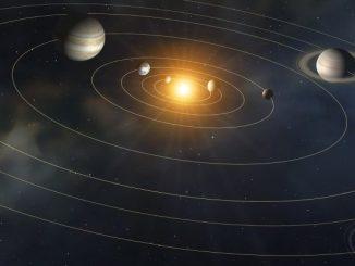 Güneş sistemi görseli