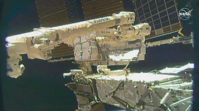 Uluslararası Uzay İstasyonu Fotoğrafı