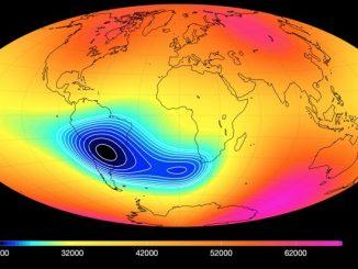 Güney Atlantik Anomalisi görseli