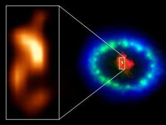 Supernova 1987A'nın fotoğrafı