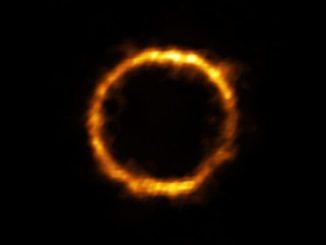 SPT0418-47 galaksisinin fotoğrafı
