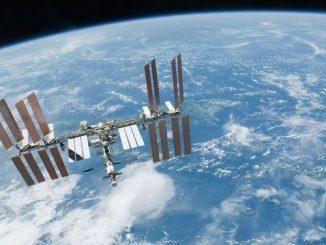 Uluslararası Uzay İstasyonunuun fotoğrafı