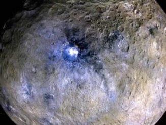 Cüce Gezegen Ceres'in bir fotoğrafı