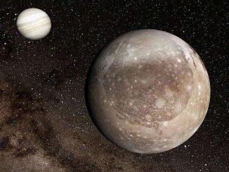 Jüpiter ve Ganymade'in fotoğrafı