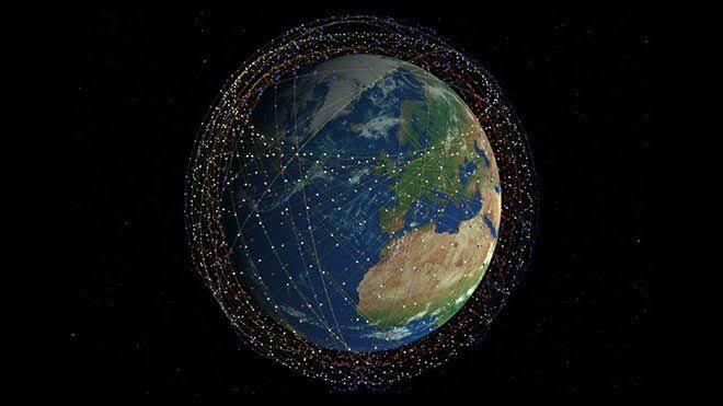 Starlink Uyduları Fotoğrafı