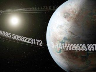 Pi Dünyası adlı gezegenin görseli