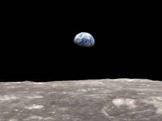 Ay yüzeyinin görseli