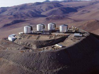VLT teleskobunun fotoğrafı