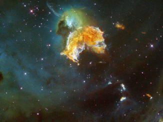 Bir süpernova kalıntısı