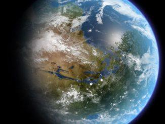 bir zamanlar Mars