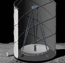 Ay'a kurulacak sıvı-ayna teleskobu