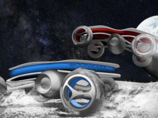 Ay yüzeyinde yarış