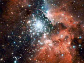 NGC 3603 yıldız kümesi