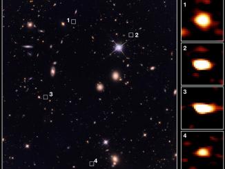 Keşfedilen kadim galaksiler