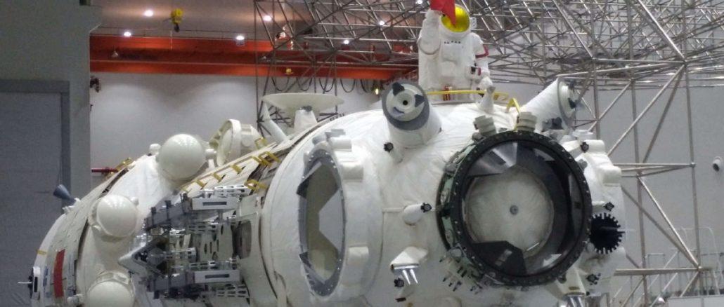 çin uzay istasyonunun çekirdek modülü