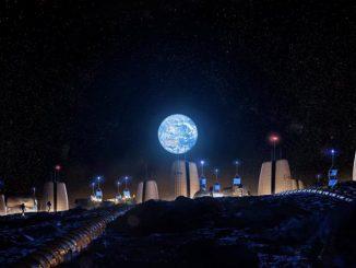 Ay'da koloni