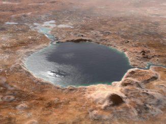 Mars'taki Jezero krateri