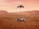 perseverance'ın Mars'a iniş anı