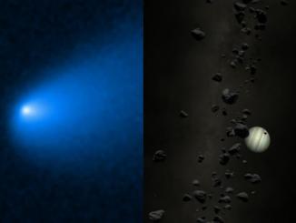 atlas kuyruklu yıldızı ve trojen asteroit kuşağı