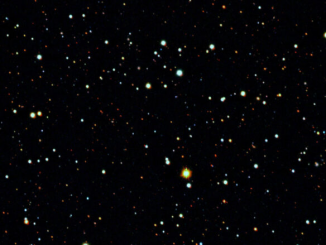 Tucana II'nin etrafındaki gökyüzü