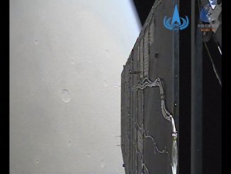 Tianwen-1, Mars'a yaklaşırken