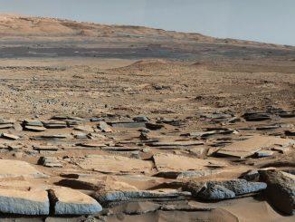 Mars yüzeyi